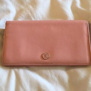 Pink Authentic Chanel Wallet